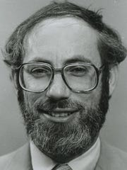 Rabbi Jeff Portman is seen in a 1984 Press-Citizen