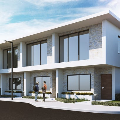 Commercial and residential space is proposed for the