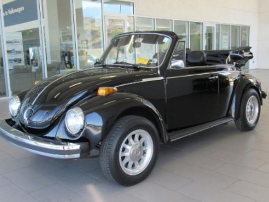 Jodi Foster's 1979 Volkswagen Super Beetle Convertible