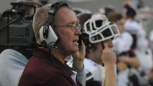 Former Swain County athletic director Frank Maennle