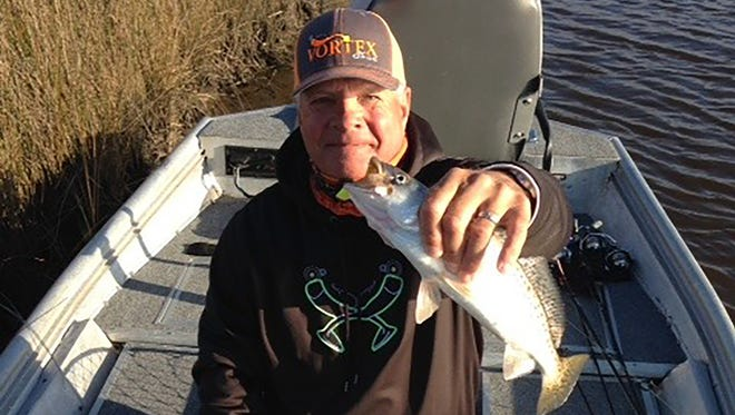 Jim Barnes of Harrison County welcomes possible tighter restrictions for fishing for speckled trout.