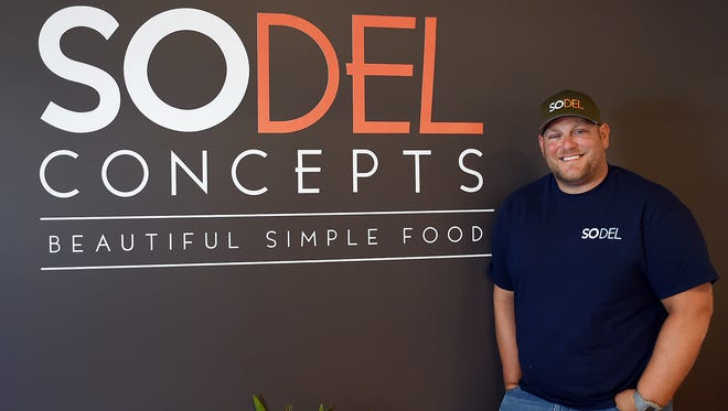 Scott Kammerer, president of Rehoboth Beach-based SoDel Concepts, is the winner of the 2016 Top Workplaces Leadership Award for mid-sized businesses.