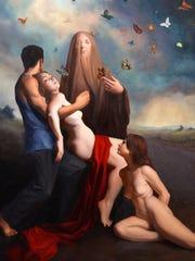 Brianna Lee's artwork is featured through September