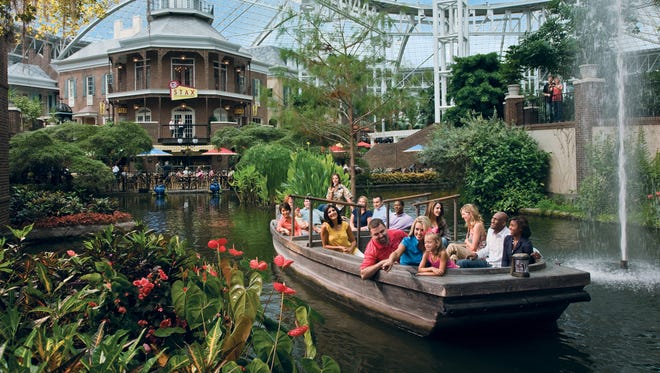 """Opryland Hotel's """"Sounds of Summer"""" fountain show takes place nightly at 6 and 8 p.m."""