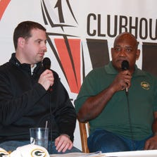 Green Bay Packers Hall of Famer Johnnie Gray (right) joins Post-Crescent Media's Brett Christopherson on the Jan 21, 2013, edition of Clubhouse Live.