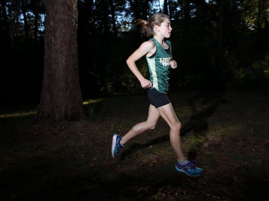 Lincoln freshman Alyson Churchill is the 2016 All-Big Bend Cross Country Runner of the Year for girls cross country after winning six races during her first varsity season, including the FSU Invitational and an FHSAA Class 3A state title -- the first for Lincoln since 1992.