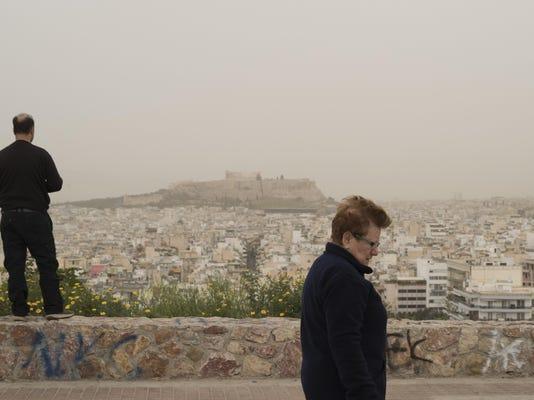 Greece African Dust