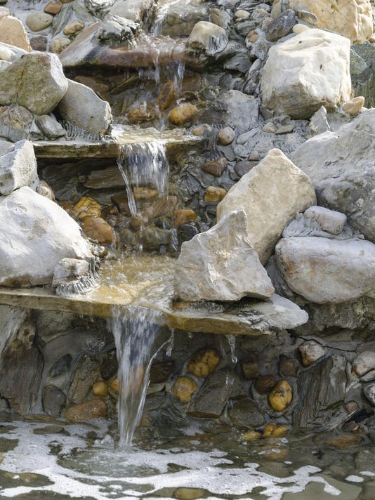 Do Fountains Waterfalls Waste Water