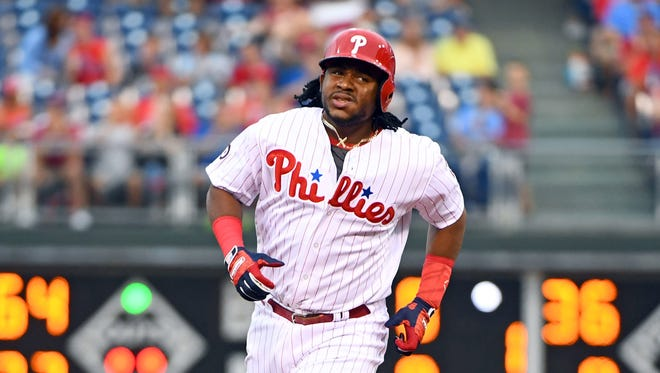 The Phillies' Maikel Franco has rebounded in July, hitting .268 with four home runs in 18 games.