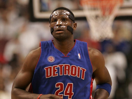 Former Pistons forward Antonio McDyess.