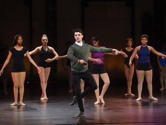 Patrick Frenette of the American Ballet Theatre leads