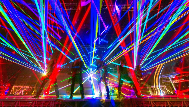 Trans-Siberian Orchestra performs in 2014. The troupe, which has two companies, will begin its winter tours Nov. 18 in Erie, Pa., and Council Bluffs, Iowa.