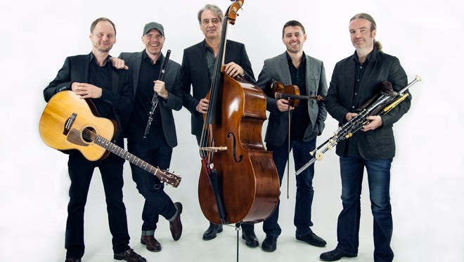 Lunasa will play its mix of original compositions and traditional Celtic melodies at Centenary Stage Co. in Hackettstown Saturday night. Preceding the concert, students from An Clar School of Irish Dance in Byram will perform in the lobby of the David and Carol Lackland Center.
