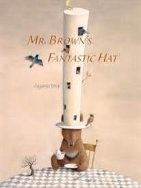 'Mr. Brown's Fantastic Hat' is an illustrated book by Ayano Imai.