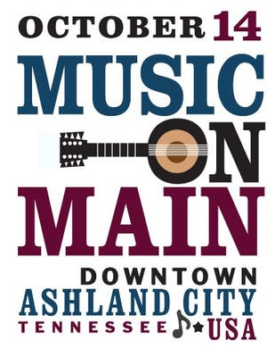 Music on Main takes place in Ashland City Oct. 14.