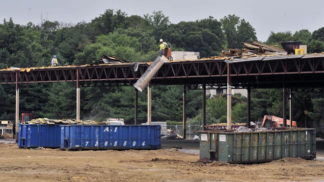 A former Walmart in Dover is seen being redeveloped into the Dover Towne Center in this 2015 file photo.