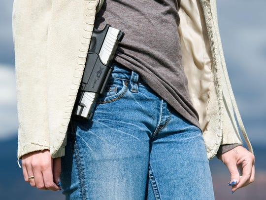Gov. Ron DeSantis has backed the possibility of more school employees being able to carry guns.