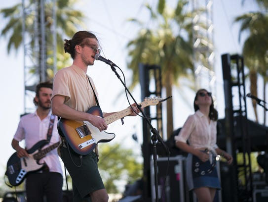 Brightener, performing during the 2016 Coachella Valley