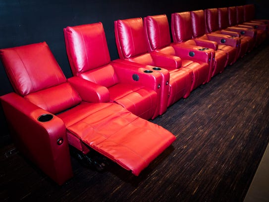 AMC Showplace Muncie 12 added reclining leather chairs,