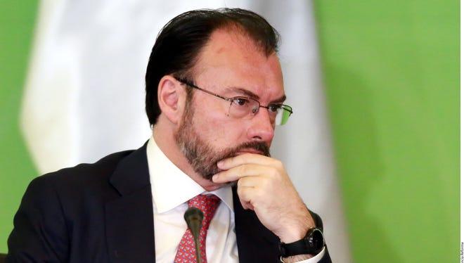 Luis Videgaray, secretario de relaciones exteriores en México.