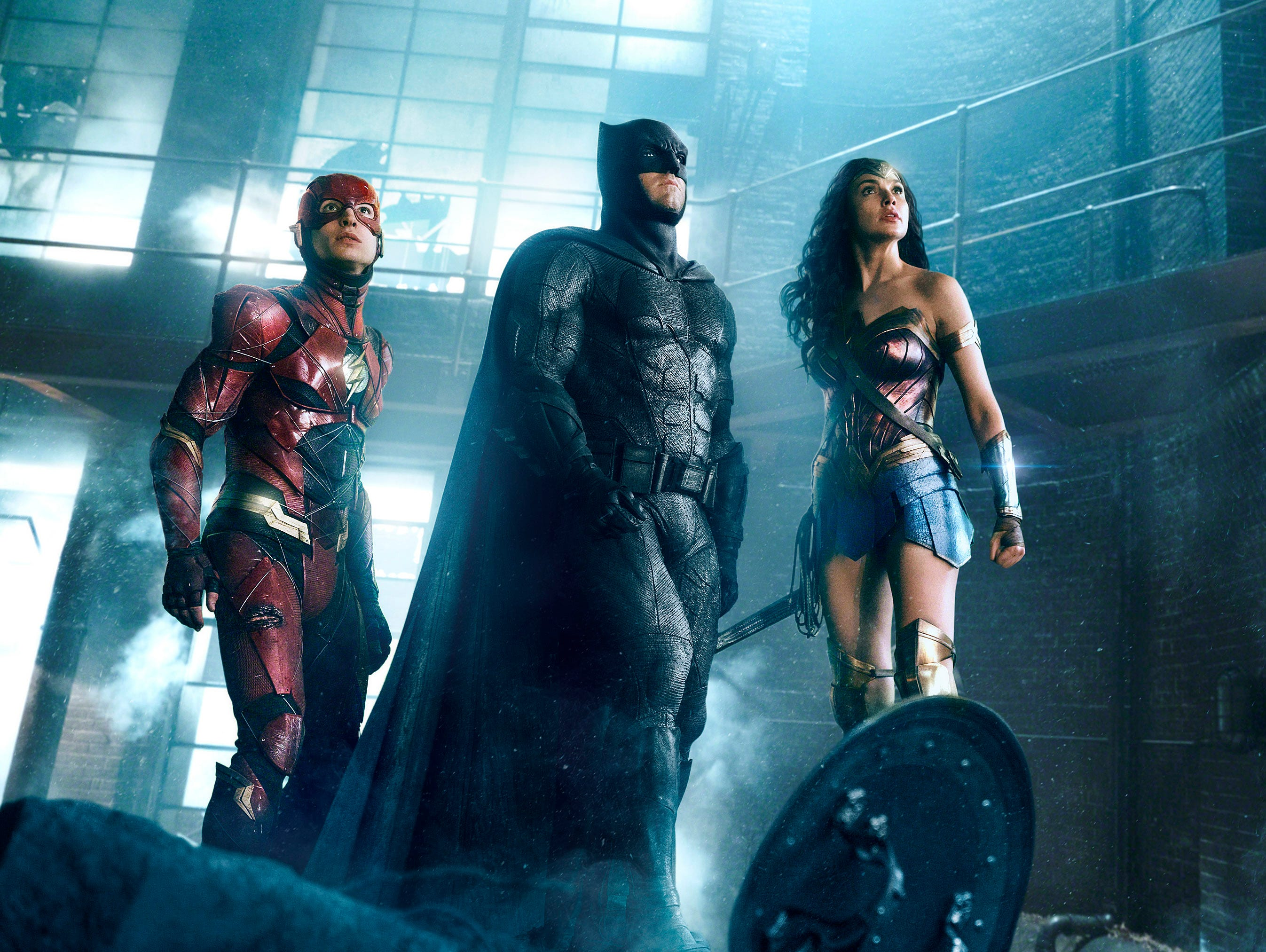 Join us on Wednesday 11/29 as we talk about 'Justice League'
