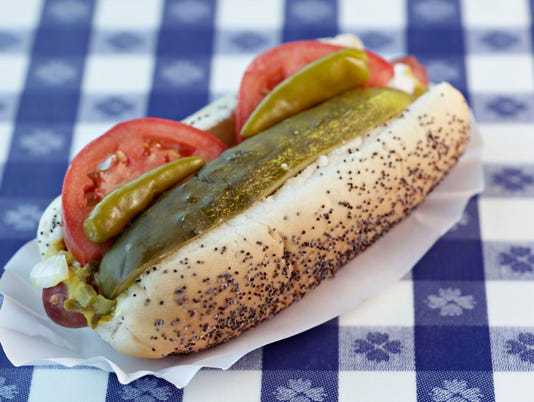 Portillo's Chicago-style Dog