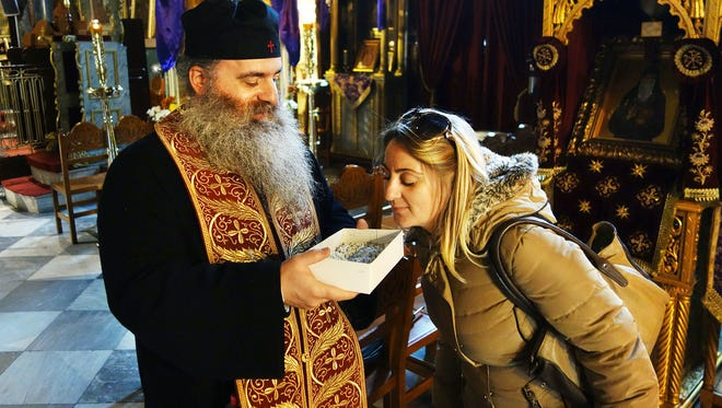 """Greek Easter services employ the scents of flower petals and incense to convey emotion — the agony of the Passion or the ecstasy of Resurrection. It's jokingly said of skeptics that their problem is only that they have """"not yet enjoyed the incense."""""""