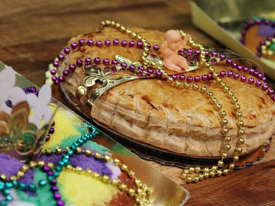 Poupart's Bakery is known for its traditional French and modern Louisiana king cakes.