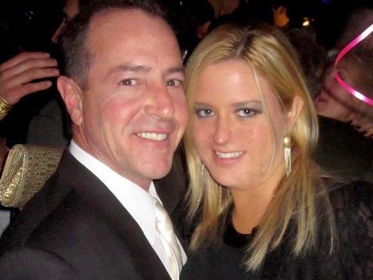 Michael Lohan and Kate Major Lohan