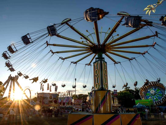 The Stars and Stripes Festival, held June 30-July 3,