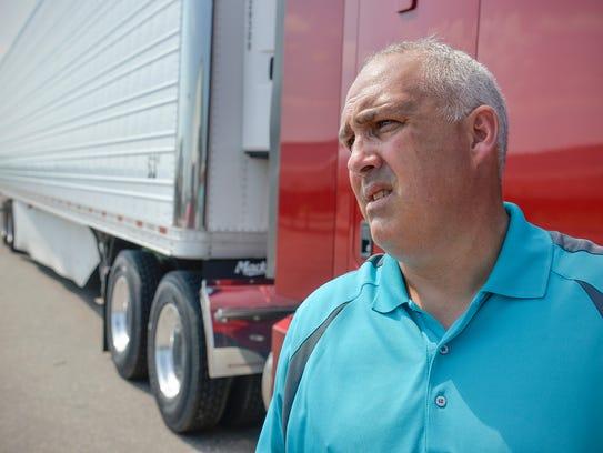 Wayne Wilson, customer support manager at Nuss Truck