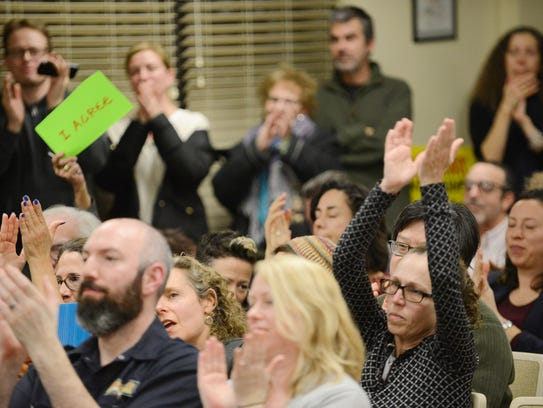 Montclair residents spoke to the township council and