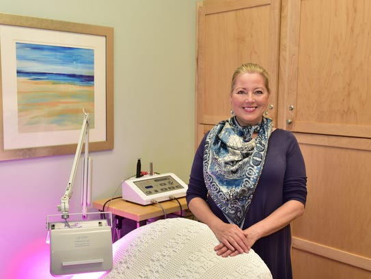 Audrey's Skin Care is located inside Pure Pilates in