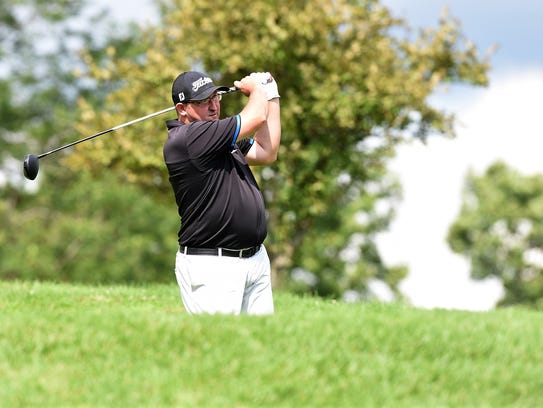 Wes Geyer posted a 2-over 72 and is tied for first