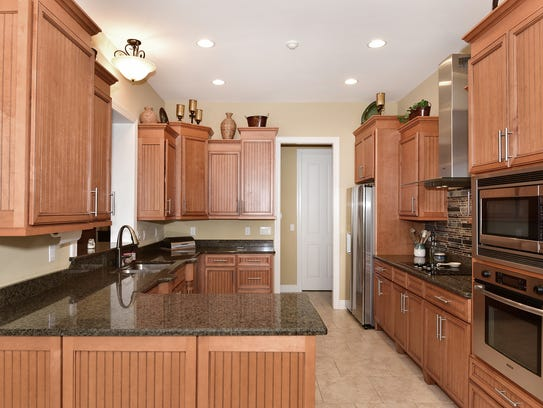 1840 Lindsey Magnolia Court, the gourmet kitchen with
