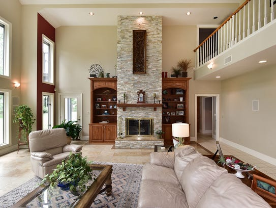 940 Paradise Beach Circle, the living room is an excellent
