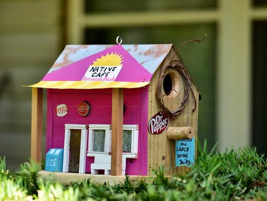 Local hotspots become birdhouses.