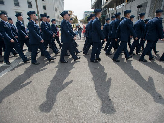 Air University instructs more than 50,000 on-site students annually, including the future leaders of the Air Force.