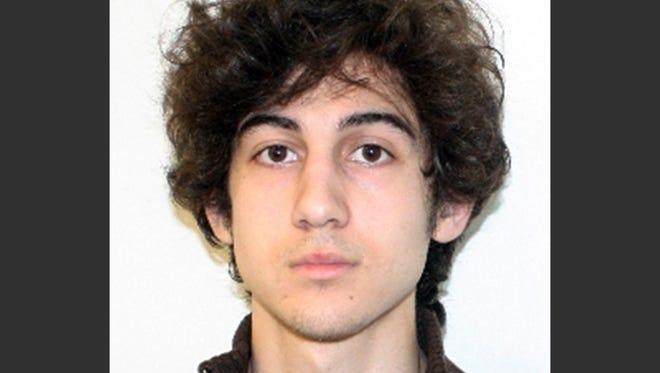 Dzhokhar Tsarnaev, the surviving suspect in the Boston Marathon bombings.