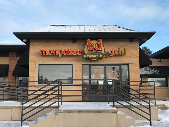 The bd's Mongolian Grill at 2080 W. Grand River Ave.
