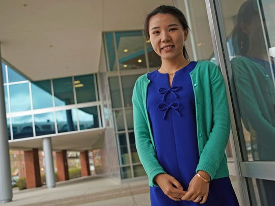 Jessica Zhang, a tech worker at Barclays Bank from