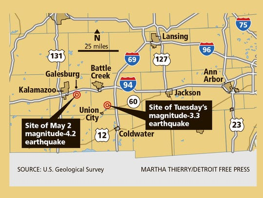 Temblor was a magnitude 3.3.