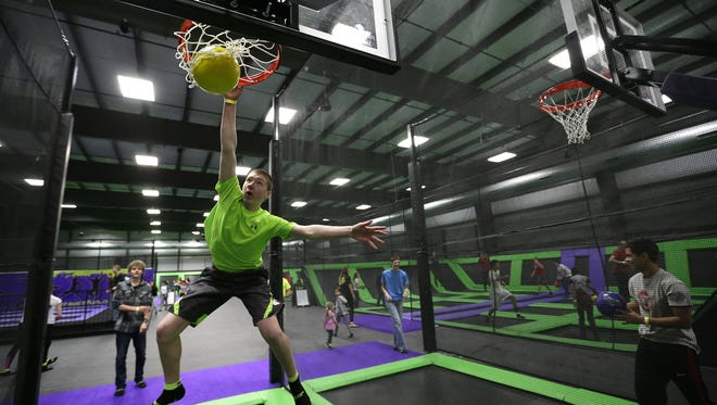 Xtreme Air, a trampoline and climbing park located inside Players Choice in Vandenbroek, is a surprise for out-of-towners, said one tourism pro.