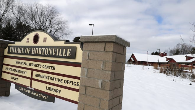 The Village of Hortonville's municipal services center Thursday, Jan. 26, 2017, in Hortonville, Wis. Danny Damiani/USA TODAY NETWORK-Wisconsin