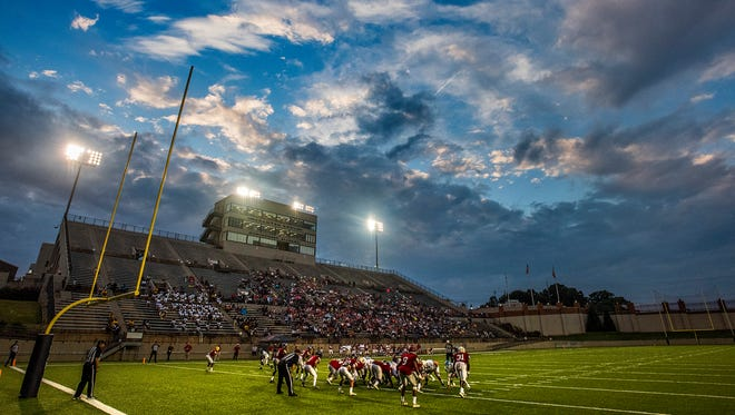 The AHSAA All Star Sports Week Football Game at Cramton Bowl in Montgomery, Ala. on Thursday July 19, 2018.