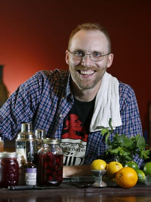 Adam Peterson runs the bar program at the Honeoye Falls Distillery as well as the Normal Food & Drink Supper Club.