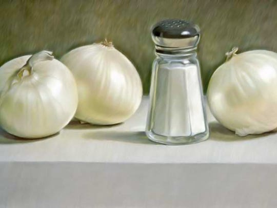 """Onions and Salt Shaker"""