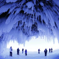 Apostle Islands ice caves remain inaccessible to visitors
