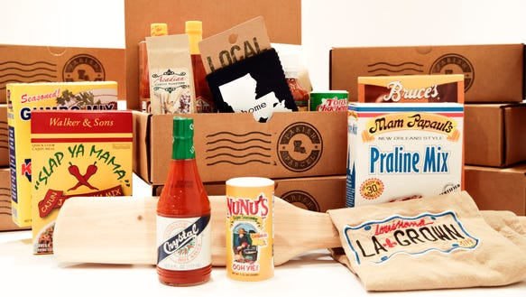 An array of products available for shipment from Parish