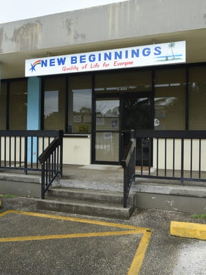 The Guam Behavioral Health and Wellness Center's New Beginning office in Hagåtña as seen on Thursday, March 30, 2017.
